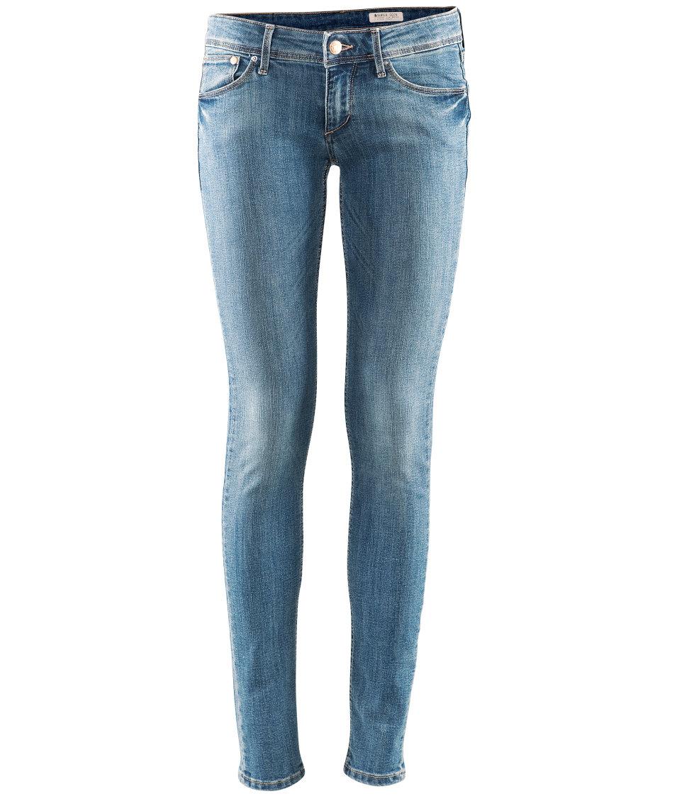 h m super sqin jeans in blue lyst. Black Bedroom Furniture Sets. Home Design Ideas