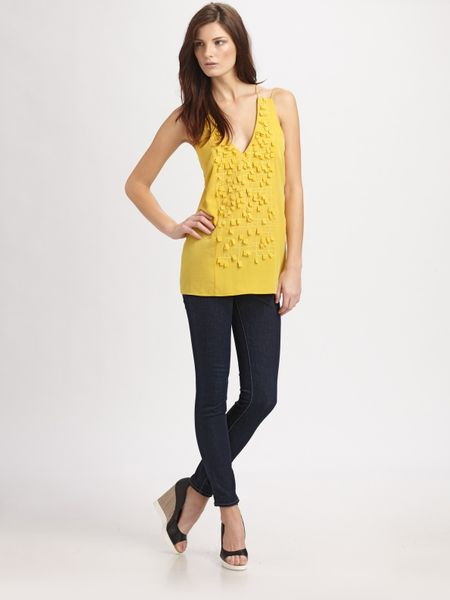 Sachin & Babi Daisy Top in Yellow (lemon)