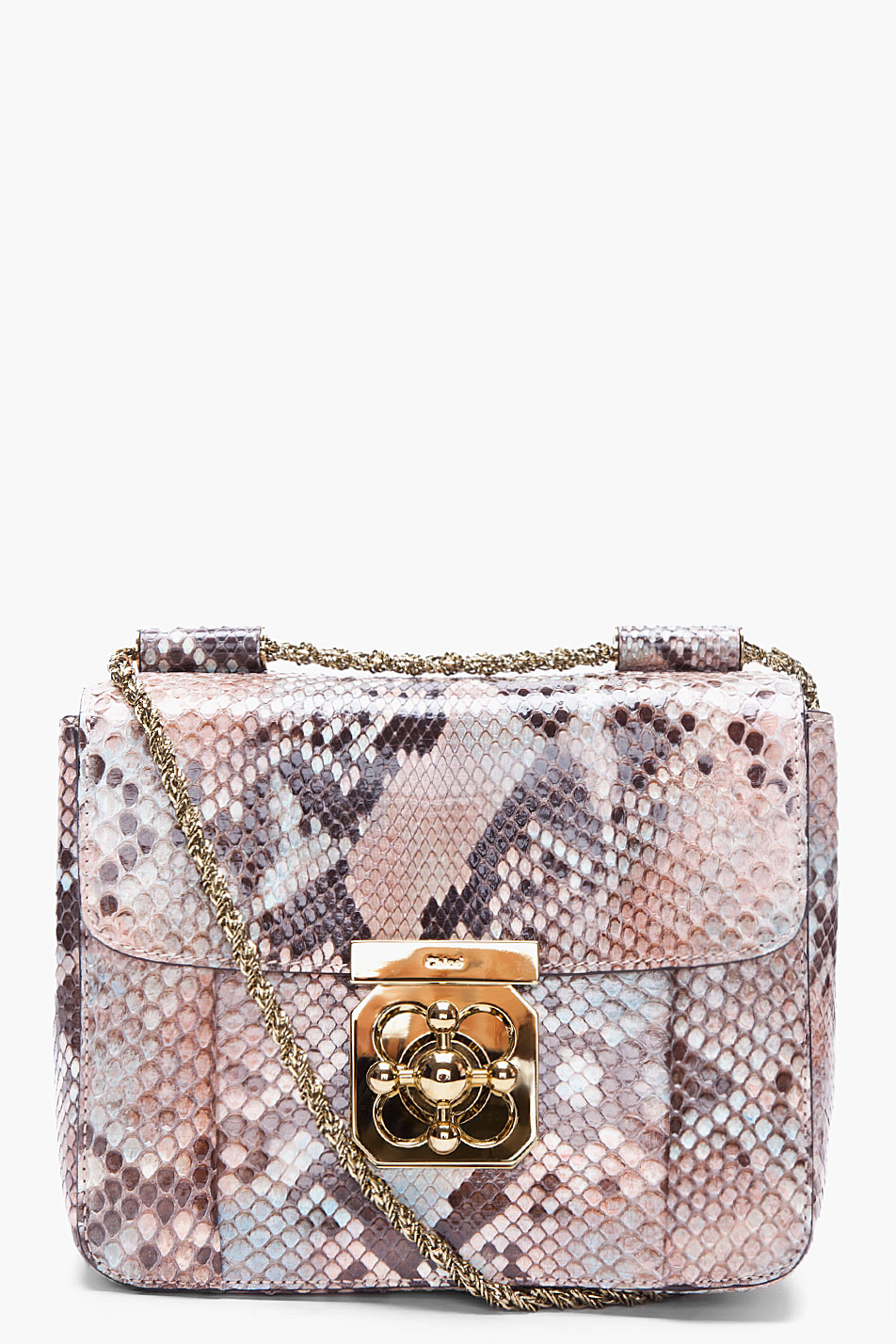 real chloe handbags - elsie mini bag in python