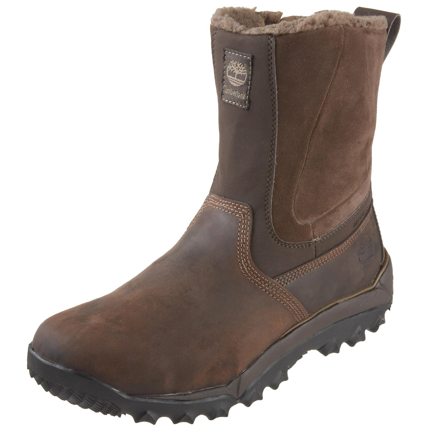 timberland s field boots in brown for brown