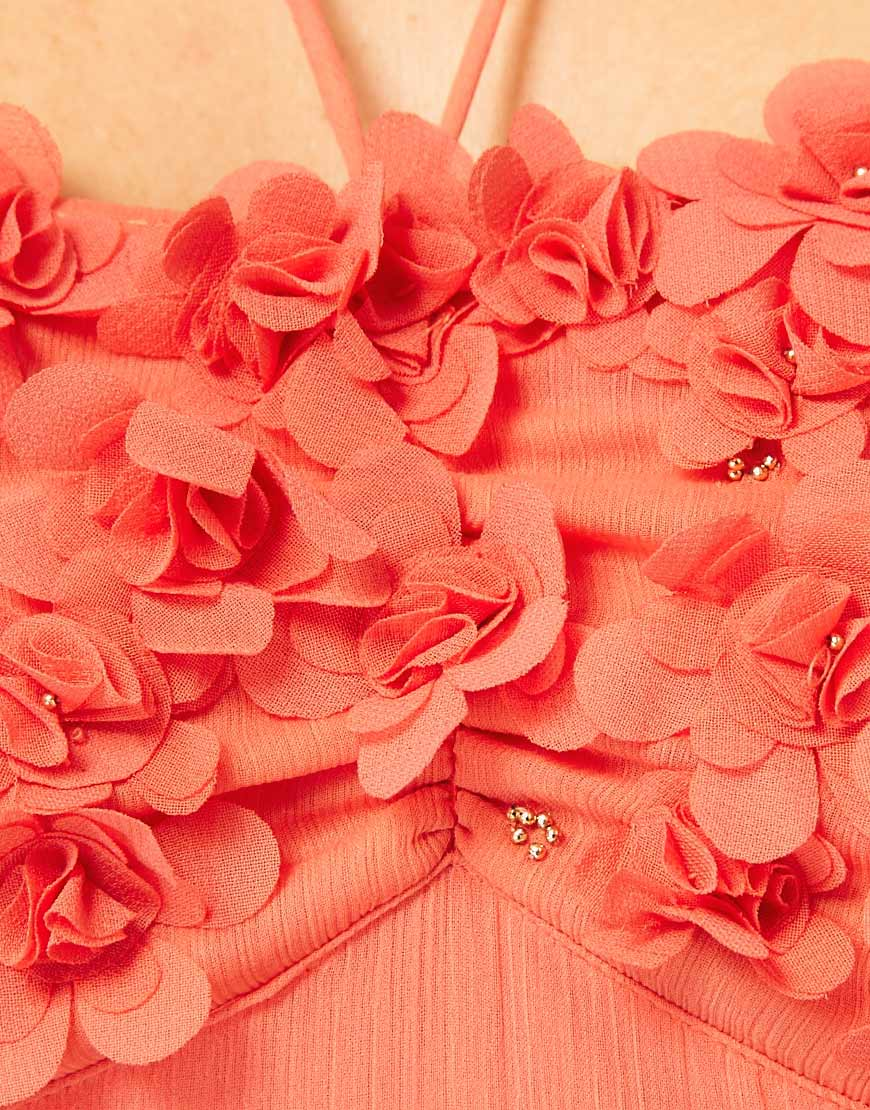River island bandeau maxi dress