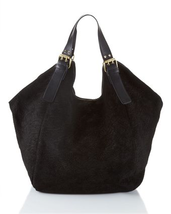 Cynthia Vincent Berkeley Leather Tote, Black - Lyst