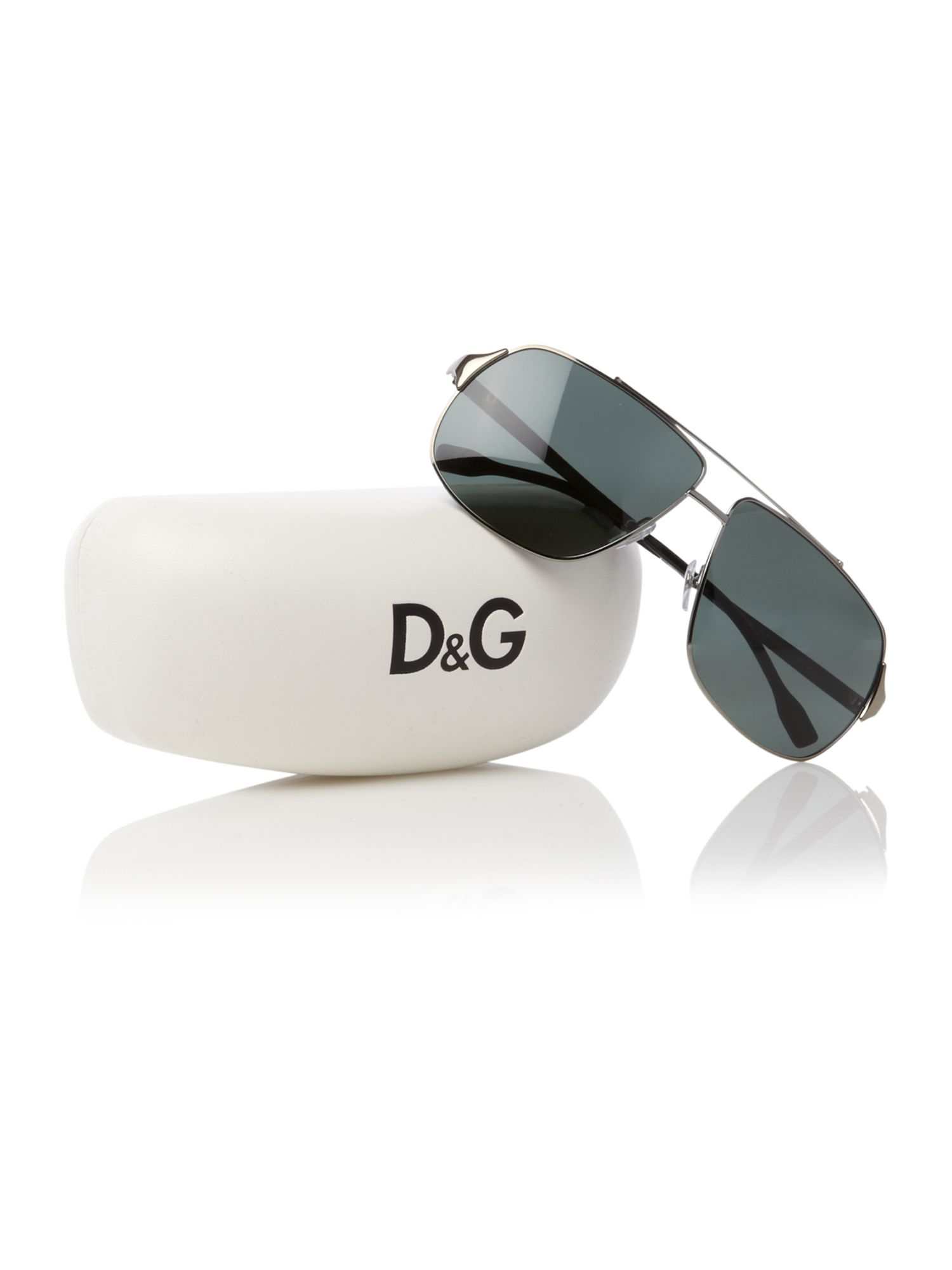Dolce And Gabbana Sunglasses Foldable  dolce gabbana mens sunglasses in metallic for men lyst