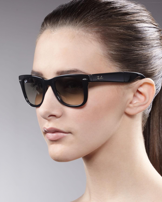 c5ecadd9c3a Lyst - Ray-Ban Standard 50mm Folding Wayfarer Sunglasses in Yellow