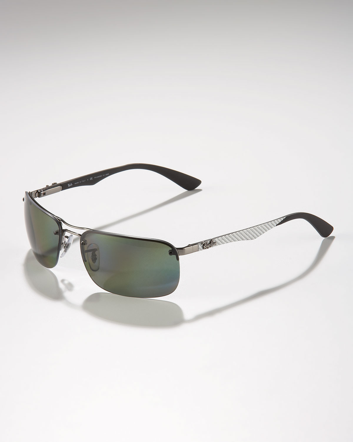 b9bdef64b5e ... coupon lyst ray ban polarized tech sunglasses in gray for men 5e5c8  11bf1 ...