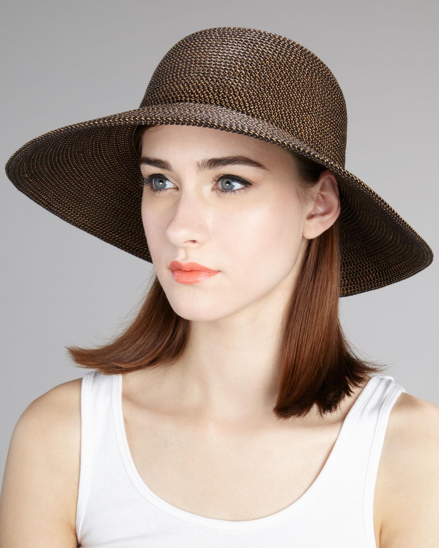 Lyst - Eric Javits Squishee Iv Hat Medium in Black 1a9565d5c450
