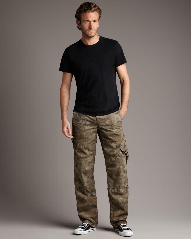 Original paperbacks Remix Camo Cargo Pants in Green for Men | Lyst
