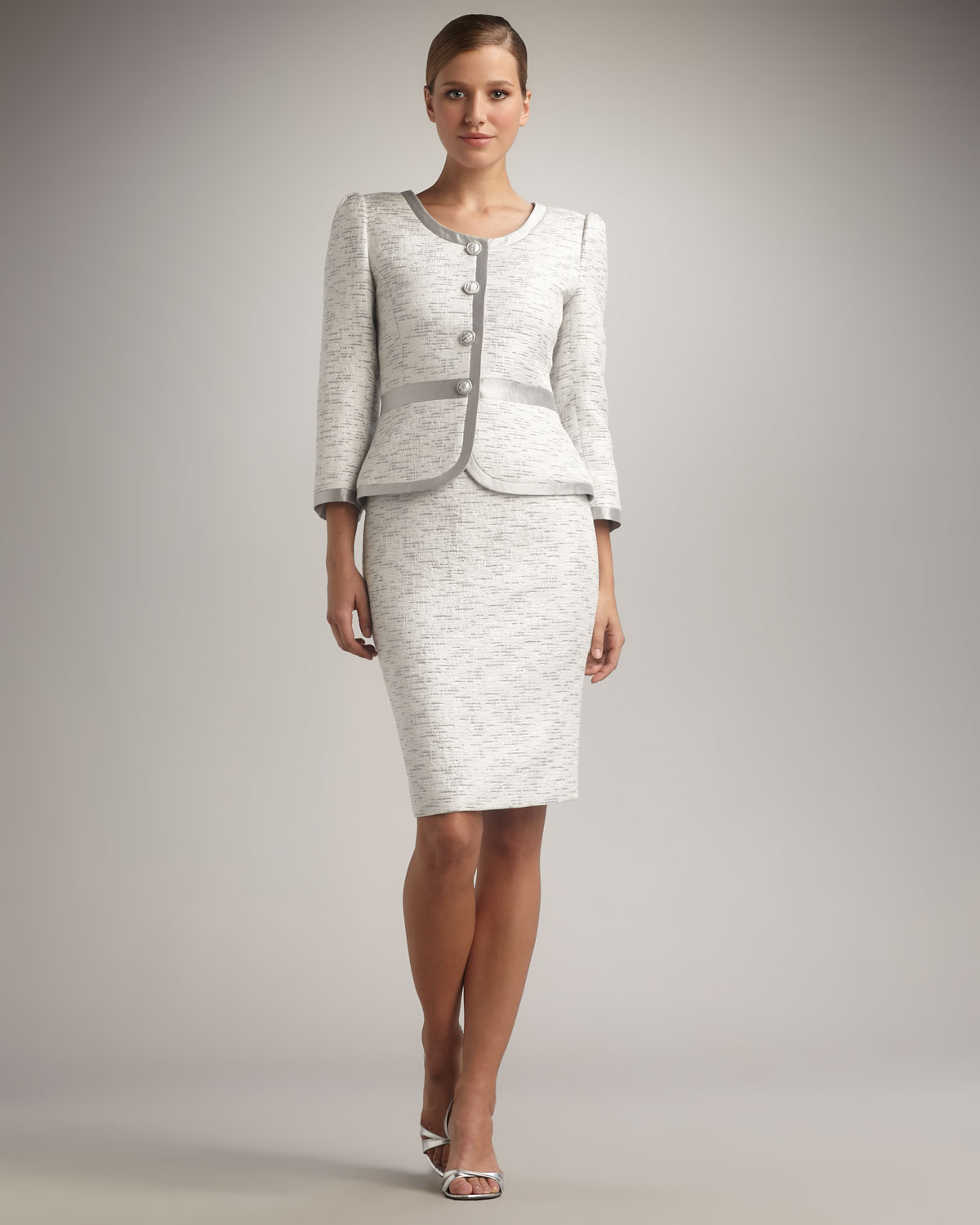 White Skirt Suit - Skirts