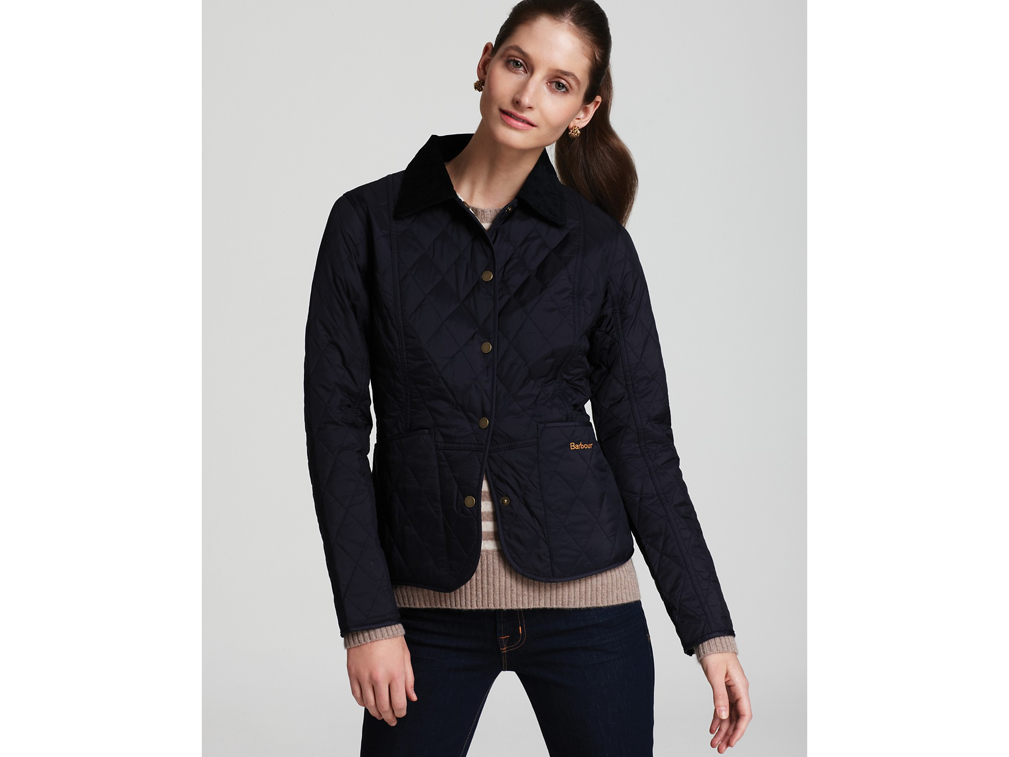 df9a69686f4 Lyst - Barbour Summer Liddesdale Quilted Jacket in Blue