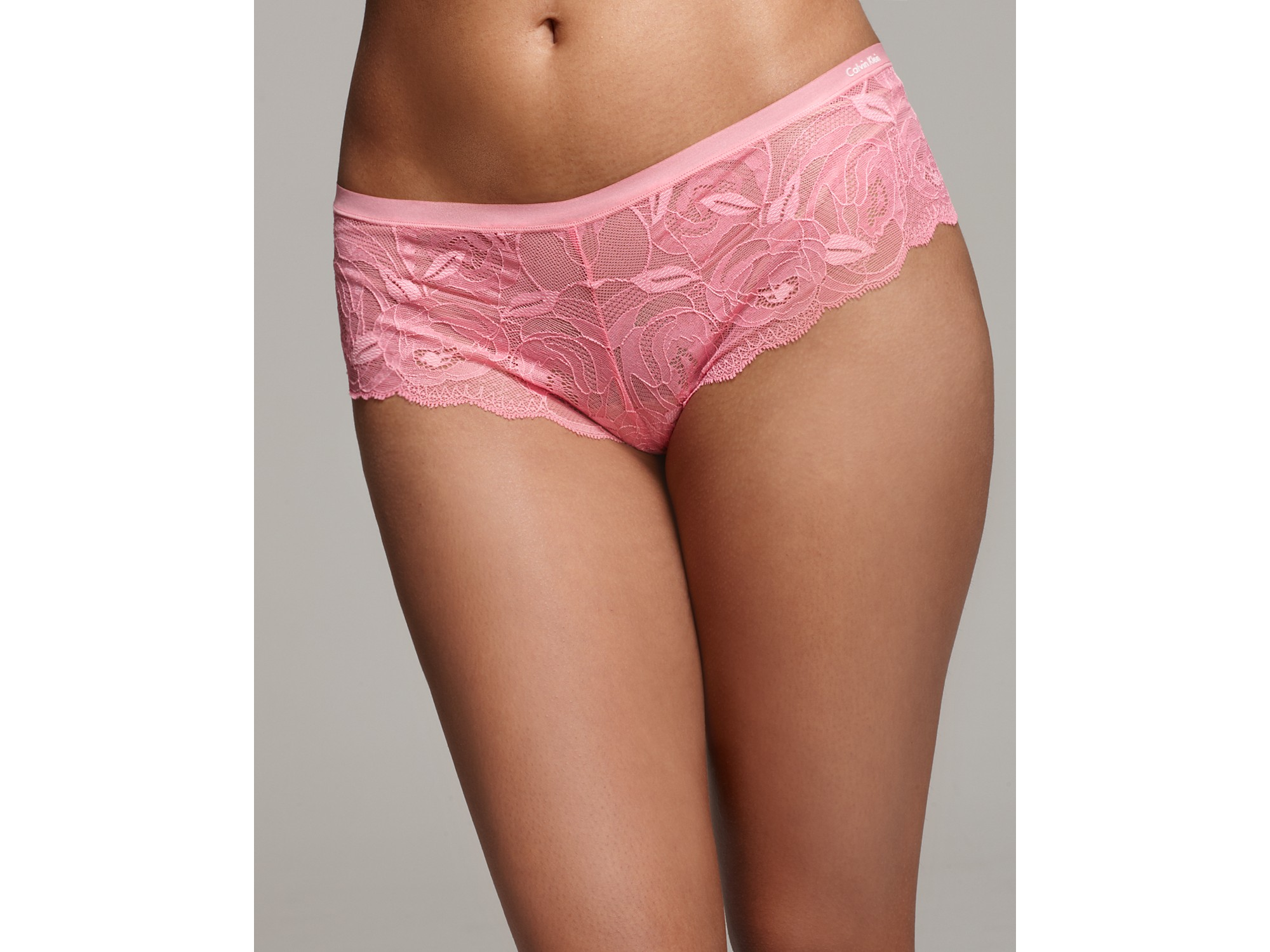 Calvin klein Underwear Perfectly Fit Bouquet All Lace Hipster in ...