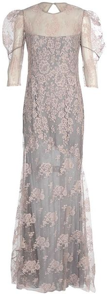 Erdem Pandora Floorlength Floral Lace Dress - Lyst