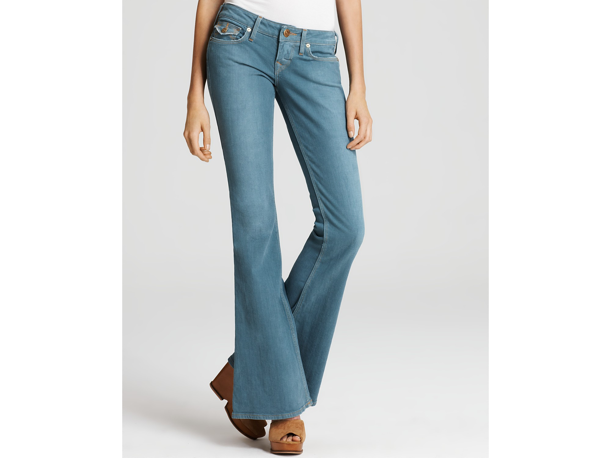 true religion jeans raegan flare jeans with lonestar. Black Bedroom Furniture Sets. Home Design Ideas