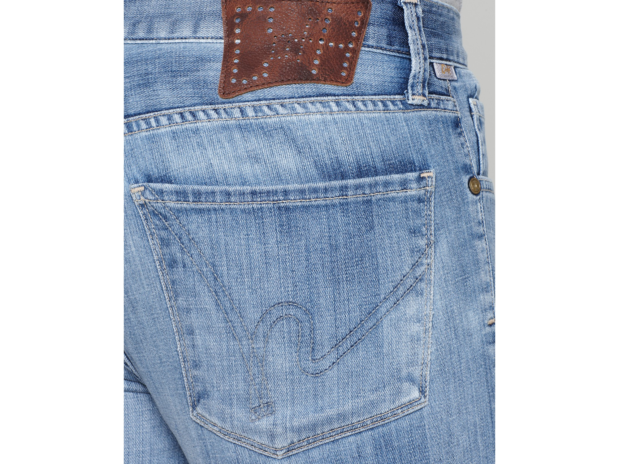 Vanity Jeans For Men : Lyst ash bootcut jeans in vanity wash blue for men