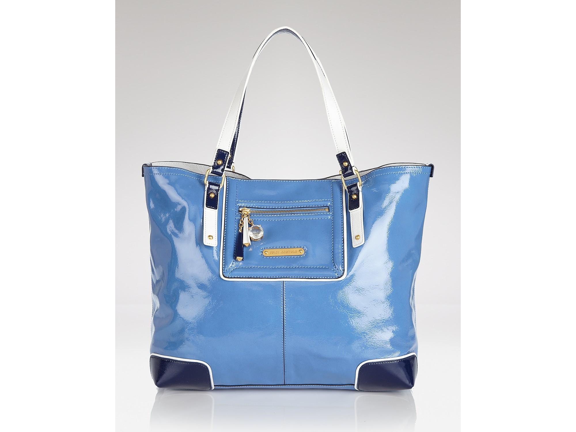 adac076fa3cbb7 Lyst - Juicy Couture Tote Miss Pippa in Blue