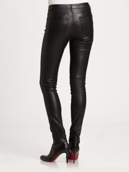 Vince Leather Pants In Black Lyst