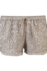 Haute Hippie Lace Shorts