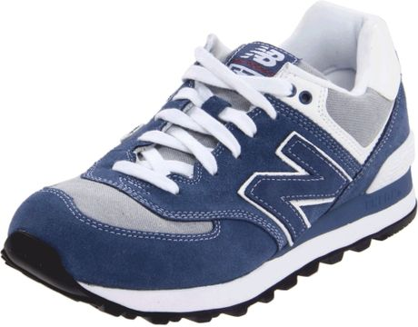 New Balance Wl574 Work Wear Sneaker in Blue - Lyst