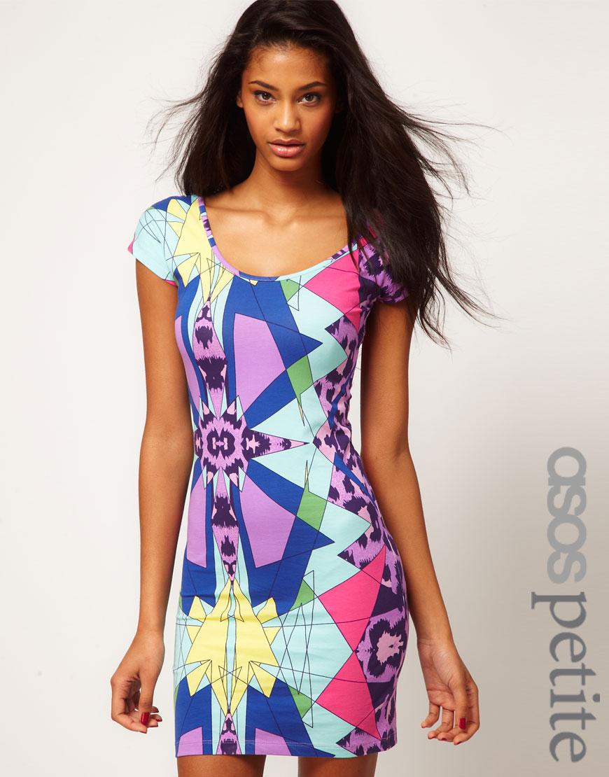 Asos Collection Asos Peplum Top In Sequin In Natural: Asos Collection Asos Petite Bodycon Dress In