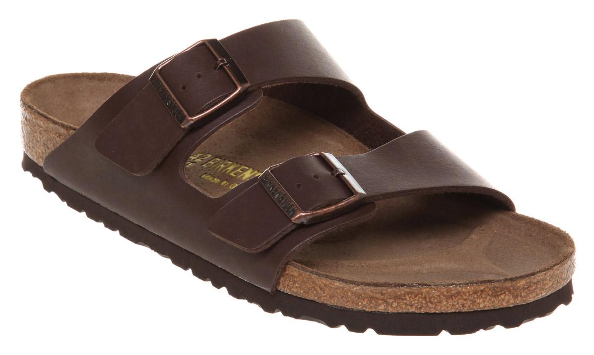 a47d326a63594f Lyst - Birkenstock Mens Arizona Sandal Brown Rubber in Brown for Men
