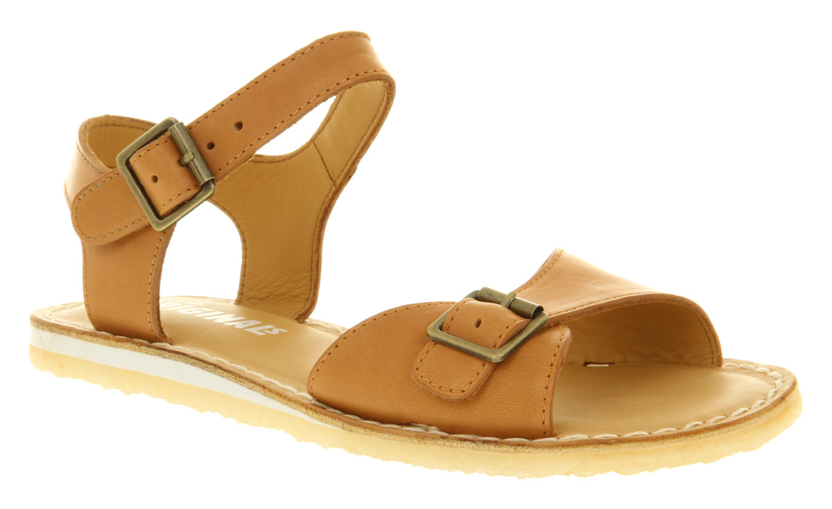 Clarks Kestral Soar Sandal Tan Leather in Natural - Lyst