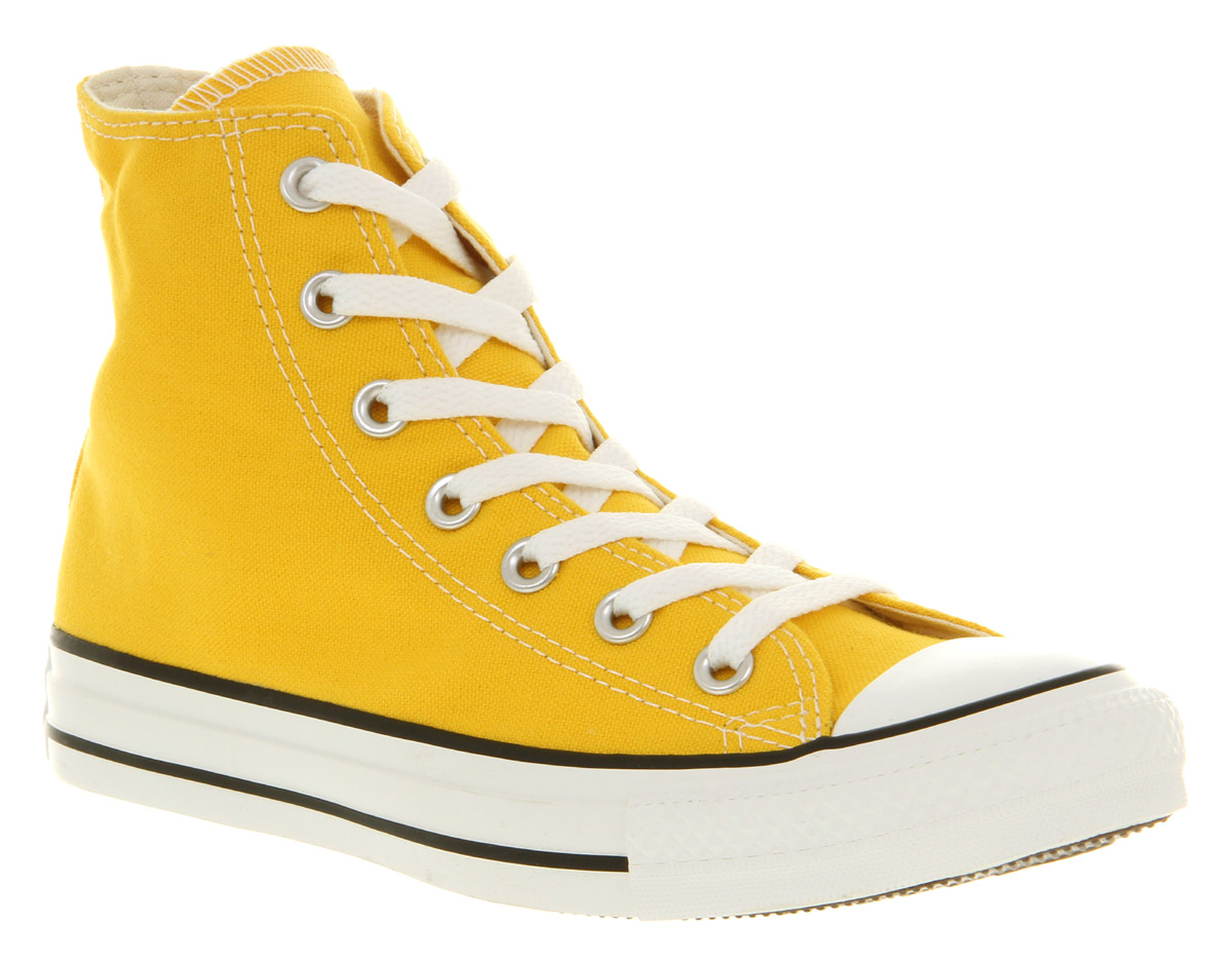 Yellow All Chrome Hi Men For In Lyst Star Lemon Converse C1wR5p0q