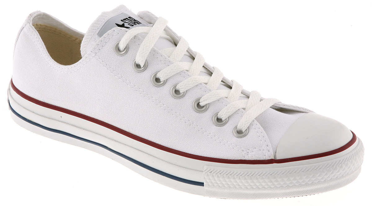 Lyst - Converse All Star Low in White for Men 06adca12b