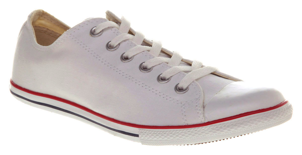 f7fd956f6fd1be Lyst - Converse Chuck Taylor Slim White in White for Men