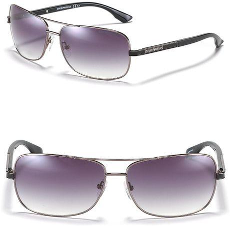 e95a8b07b977 Giorgio Armani Women's Aviator Sunglasses | United Nations System ...