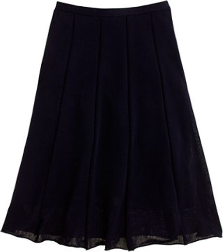J.crew Promenade Skirt in Blue (navy) - Lyst