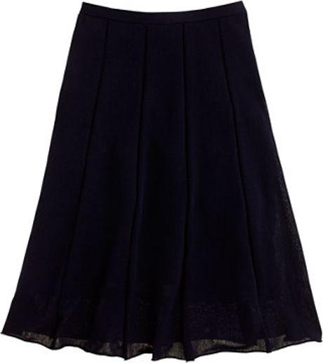 J.crew Promenade Skirt in Blue (navy)