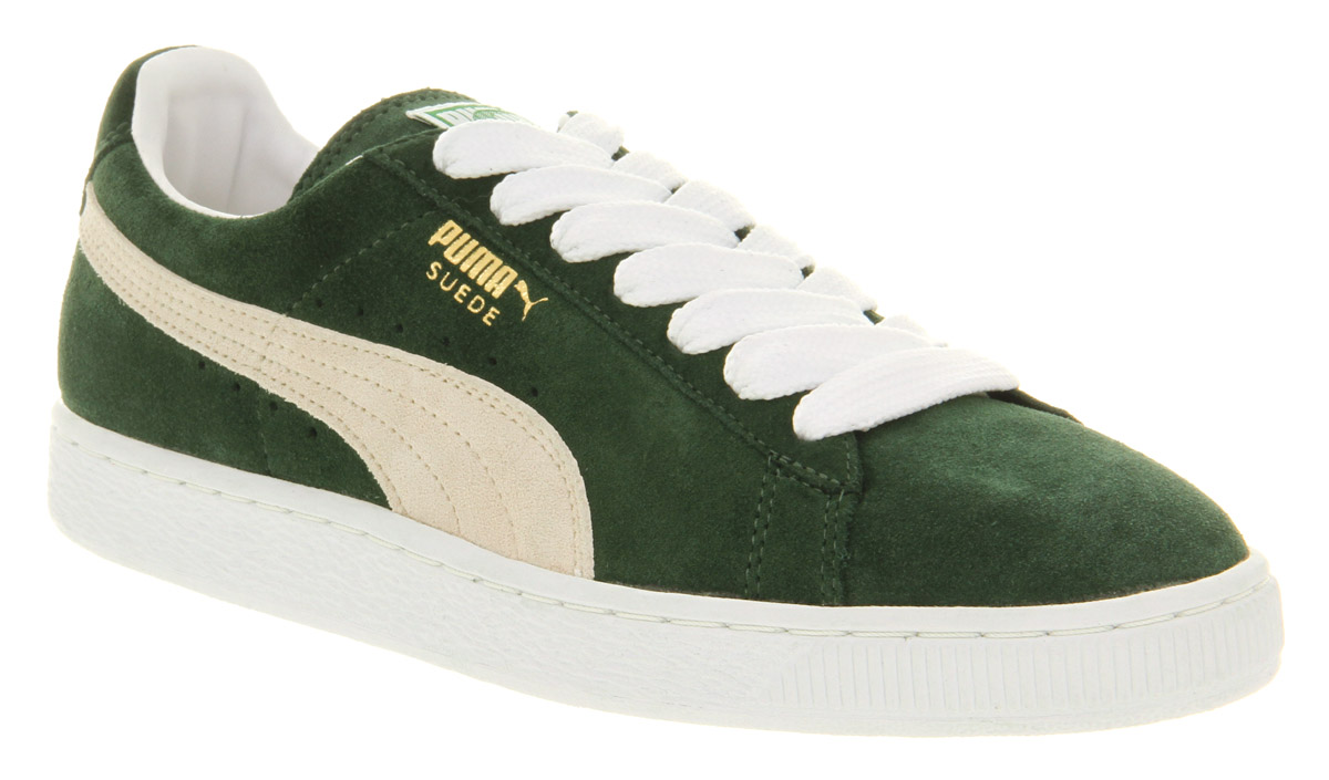 6afe4691d78 Lyst - PUMA Suede Classic Pine Needle in Green for Men