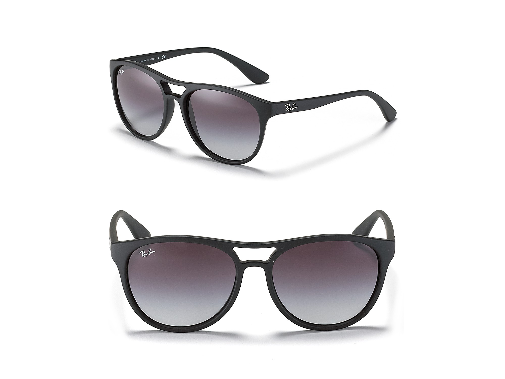 ray ban round double bridge sunglasses  gallery