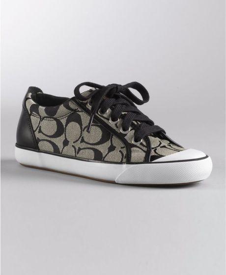 Coach Barrett Sneaker in Black (black white/black) | Lyst