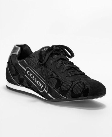 Coach Hilary Sneaker in Black (black/gunmetal) | Lyst