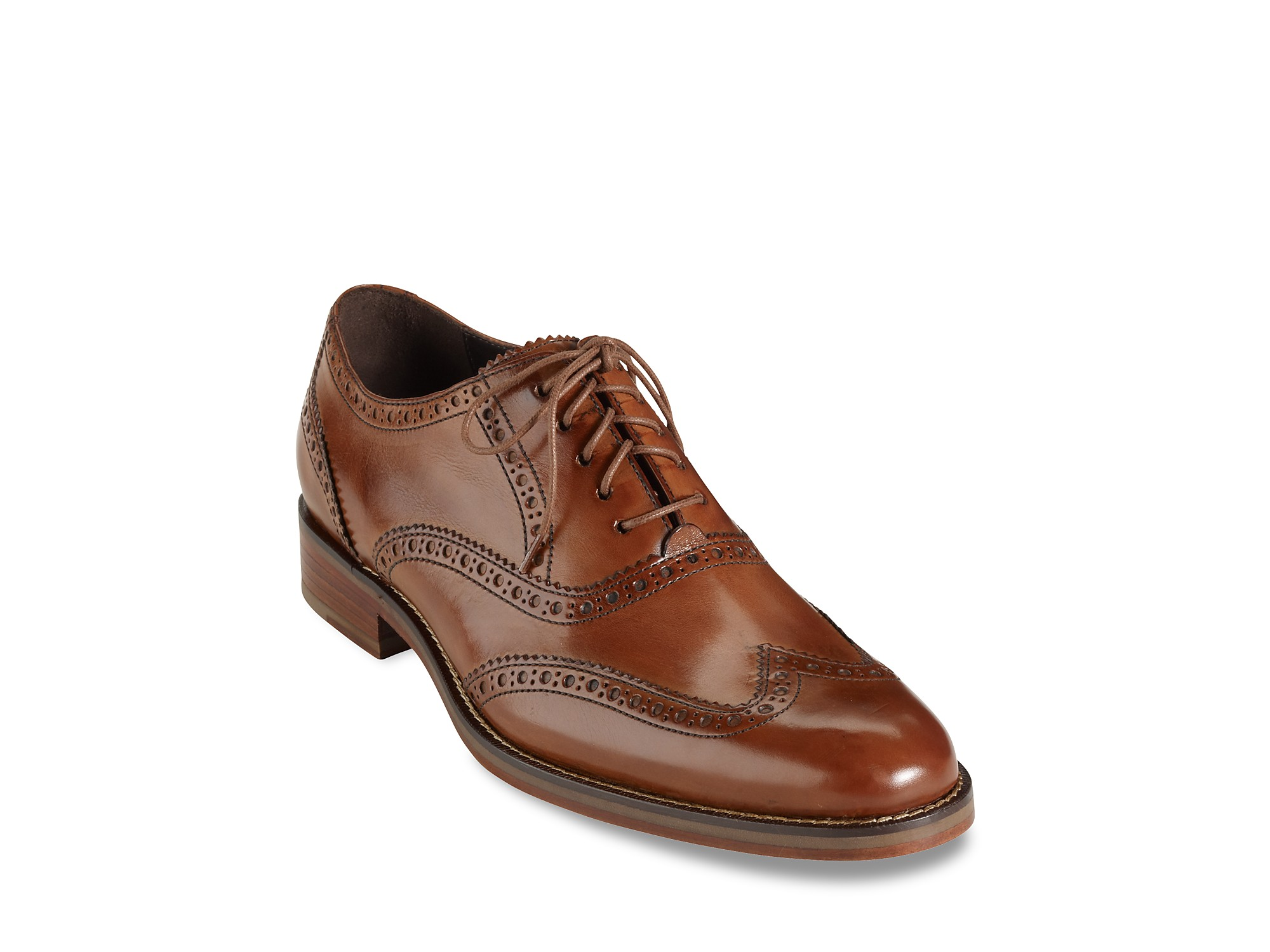 Cole Haan Mens Shoes Air Madison Wingtip Oxfords