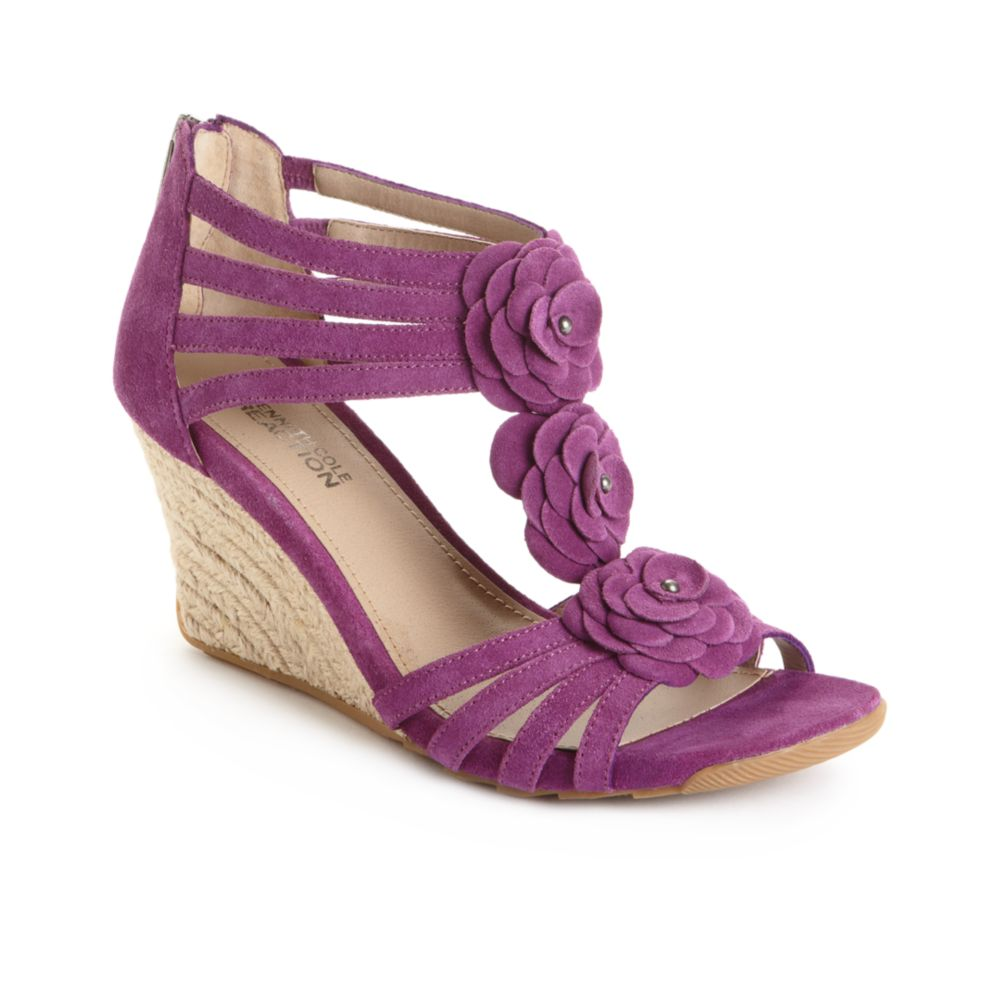 Purple Wedge Shoes For Sale