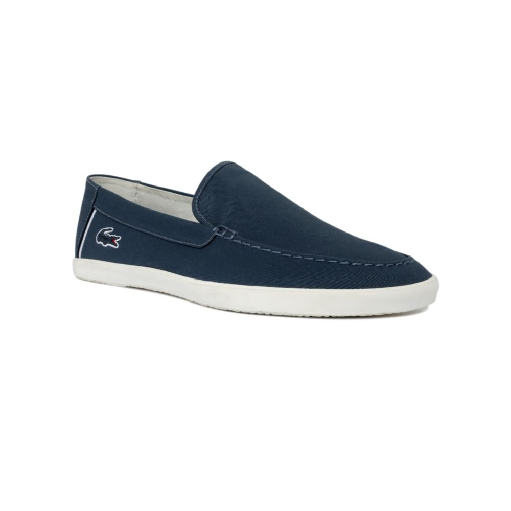 Lacoste Harisson Slip On Sneakers in Blue for Men   Lyst