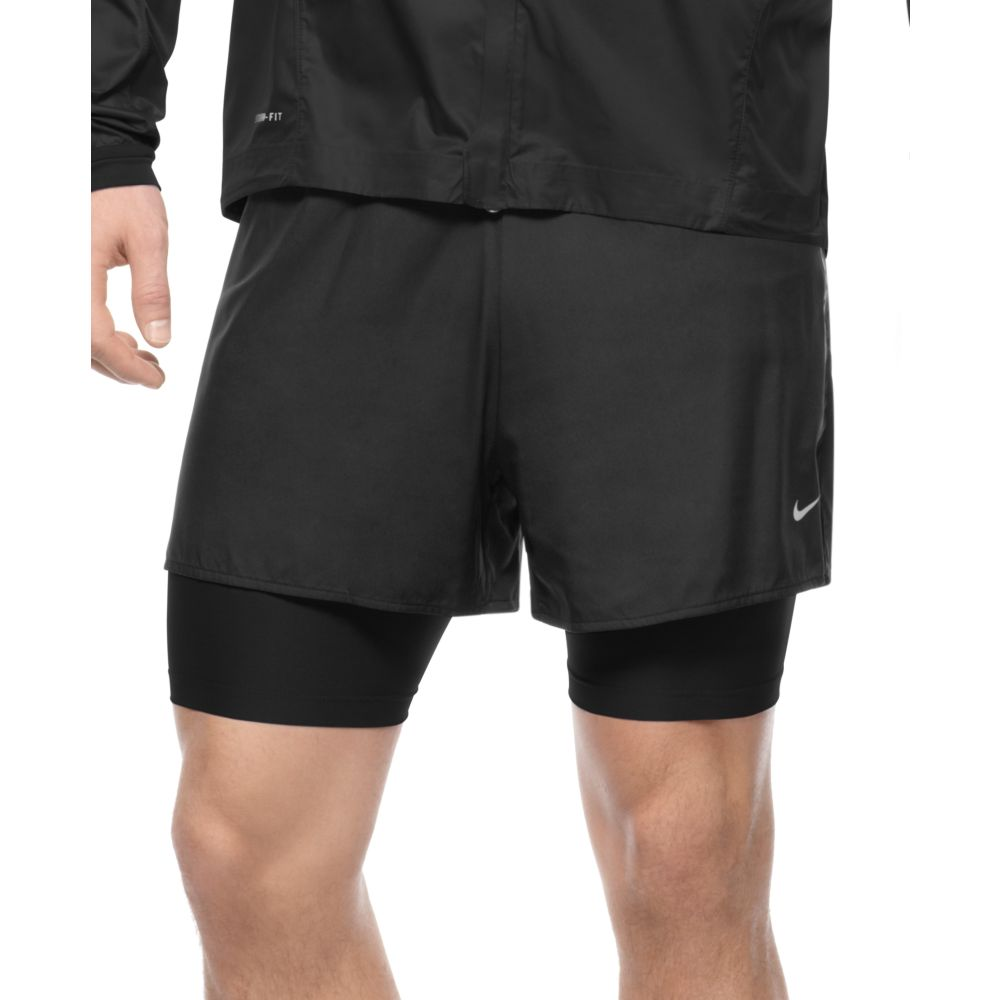 nike 2 in 1 running shorts