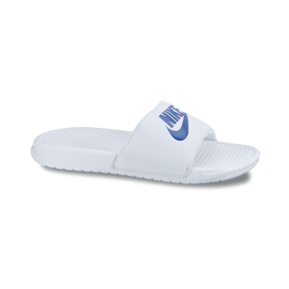 112c4165def6 Lyst - Nike Benassi Jdi Sandals in White for Men