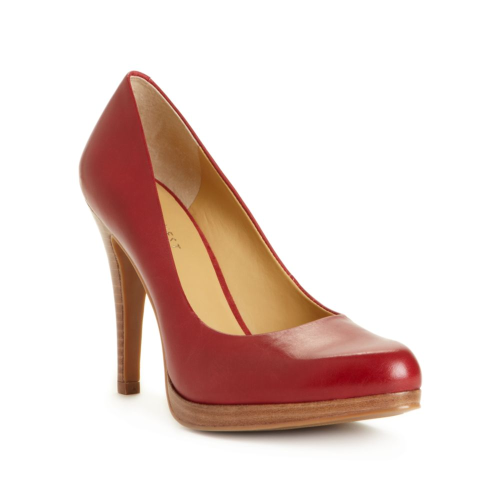 47d32d6189b24 Nine West Rocha Platform Stiletto Pumps in Red - Lyst