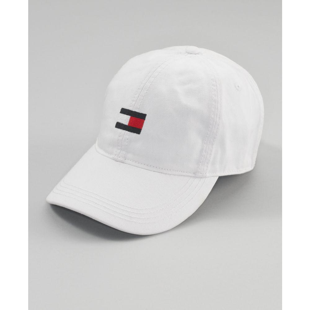 0bcf17b74f14a Lyst - Tommy Hilfiger Flag Baseball Hat in White for Men