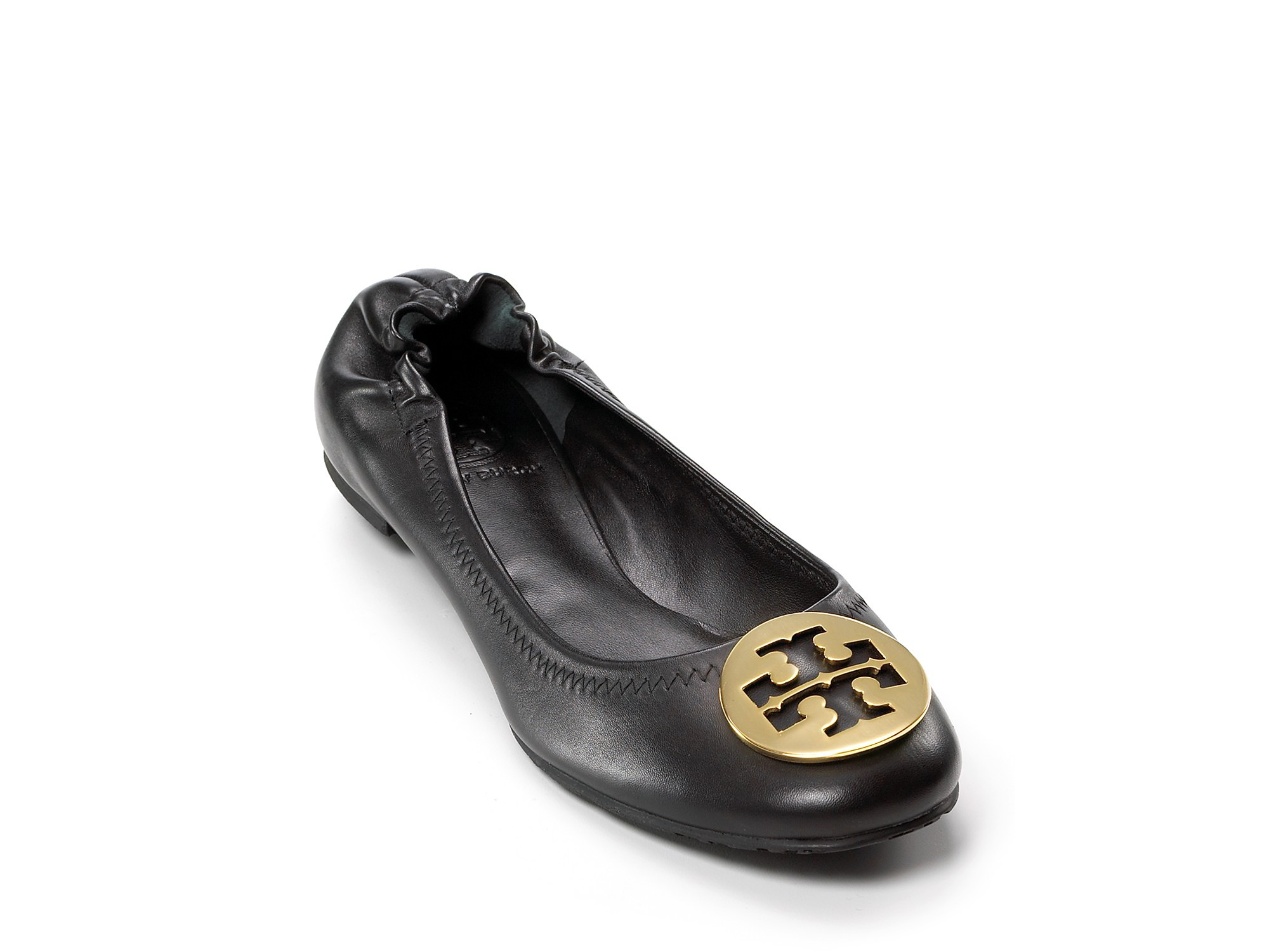 435bf92be Lyst - Tory Burch Flats Reva Ballet in Black