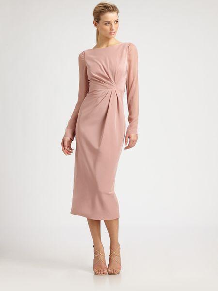 Calulla Lillibelle Silk Chloe Dress in Pink (blush)