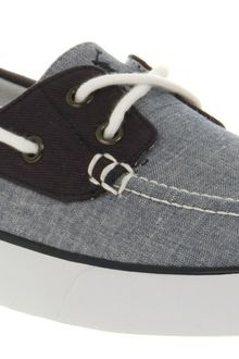 Ralph Lauren Lander Canvas Boat Shoe Blue Chambray - Lyst