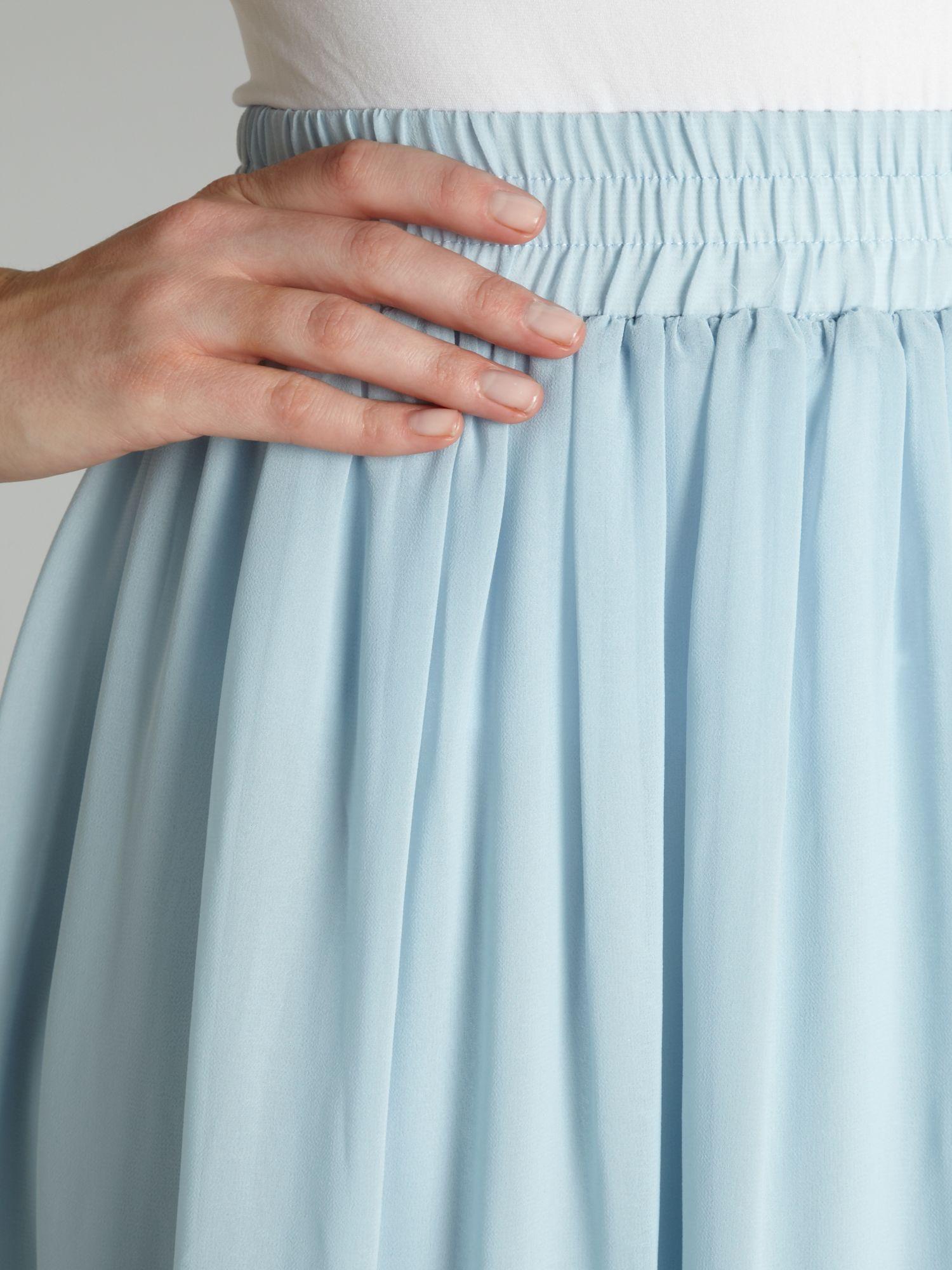 True decadence True Decadence Maxi Skirt in Blue   Lyst