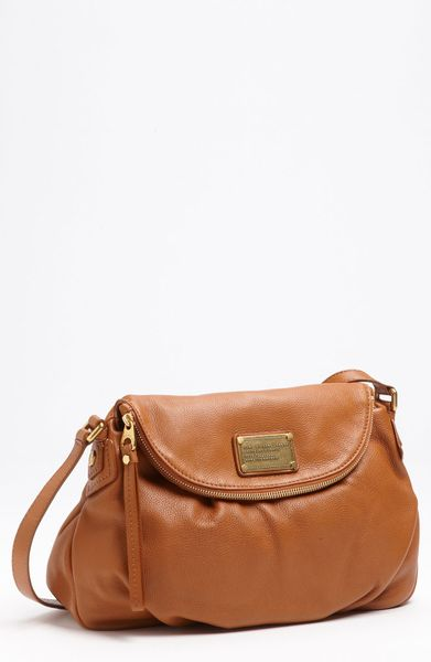 Marc By Marc Jacobs Classic Q Natasha Crossbody Flap Bag in Brown (rum