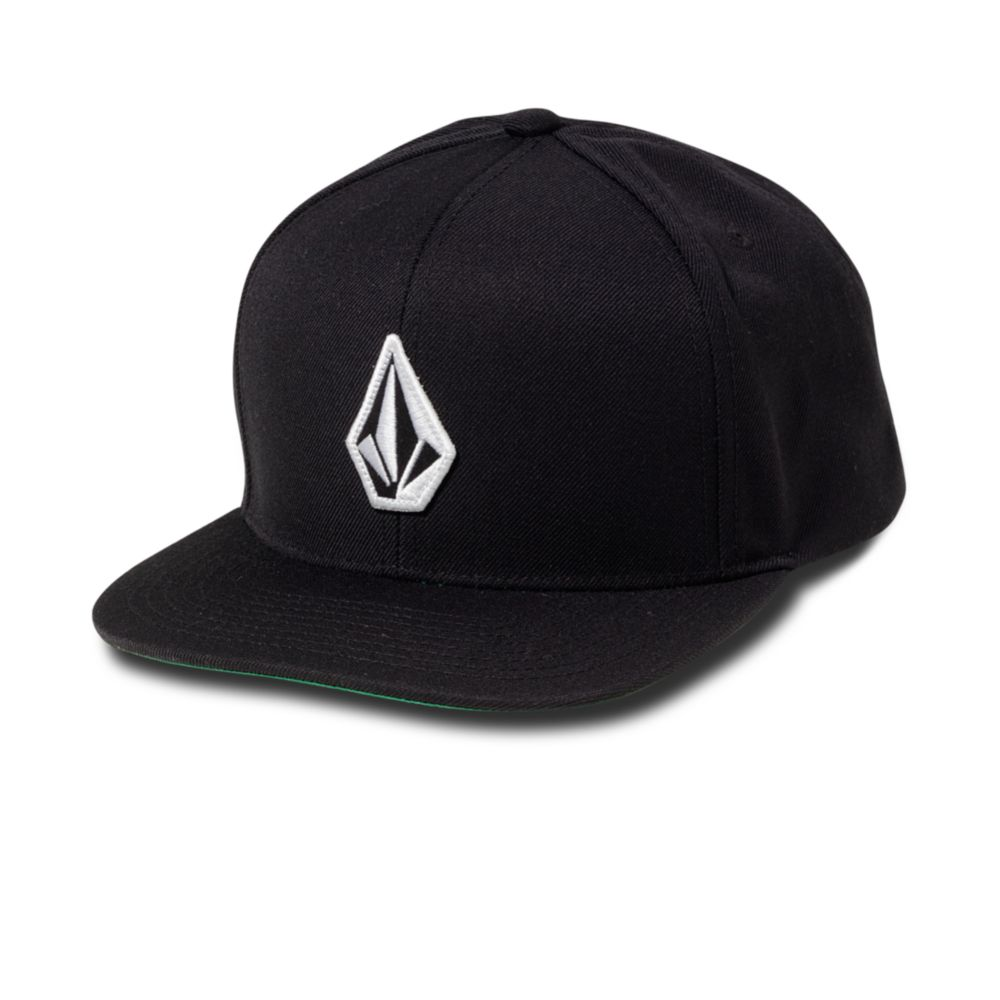 f831d6fc ... italy lyst volcom el stone snap back hat in black for men 2afdd 2f260