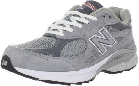 Hommes Nouveau Balance 990 - Chaussures Nouveau Balance M990v3 Heritage Fonctionnement Shoe Gris Usine