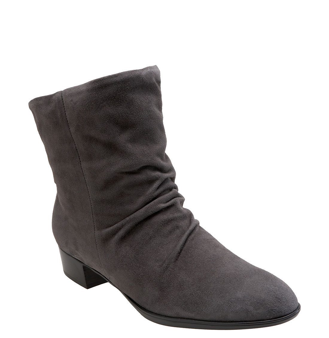 munro tate boot in gray grey suede lyst