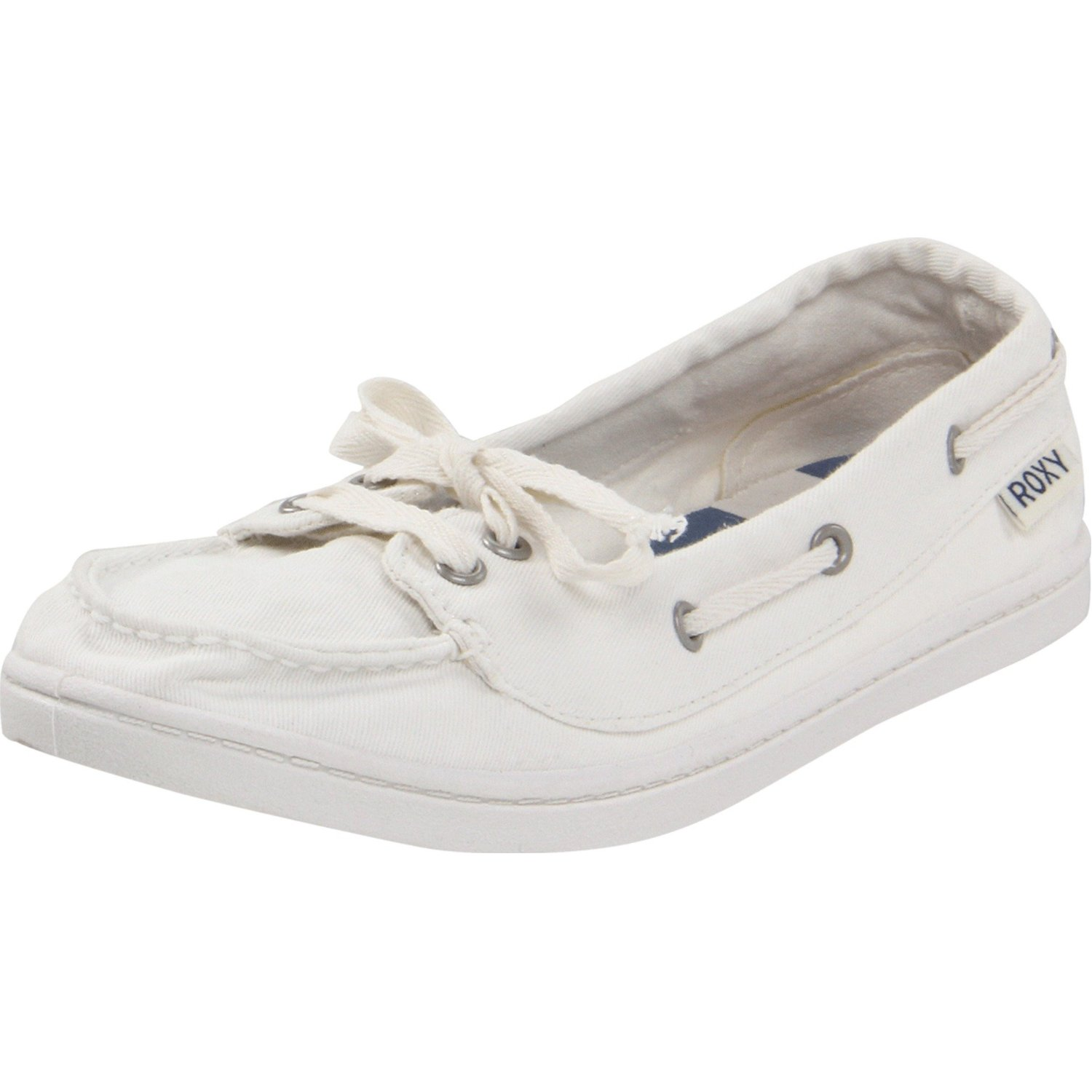womens ahoy boat shoe in white lyst